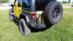 Jeep Wrangler Heavy Duty JK Front & Rear Tube Fenders