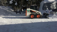 BOBCAT and EXCAVATING SERVICES/ SNOW PLOWING