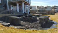 Landscaping and Retaining Walls Done Right! 403-805-8819