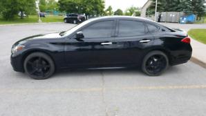 2012 Infiniti M37x AWD Black Ext Beige Int  -  Rebuilt Title...