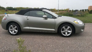 2008 Mitsubishi Eclipse Convertible SPYDER GS ONLY 95,000 KM