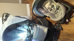 Safety 1st Travel System- Stroller, car seat and base.