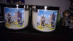 New 3 wick bath and body works candles
