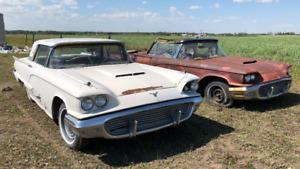 (2) 1959 Thunderbirds for sale.