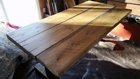 New Large, Thick 6ft long Rustic Country Style Harvest Table!