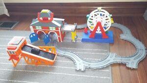 Thomas the Train firehouse set