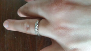 White gold diamond promise ring Prince George British Columbia image 3