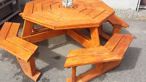 Picnic Table - Octagon