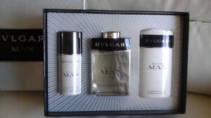 Original 'BVLGARI MAN' gift set for sale