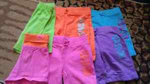 6 pairs of Childrens Place size 4 shorts