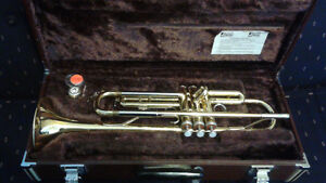 Yamaha Gold Plated Bb trumpet for sale