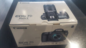 STORE SALE - Canon EOS 7D Mark II W-E1 DSLR Camera (Body Only)