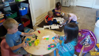 Available Child Care Spaces in Registered FHDC Programs