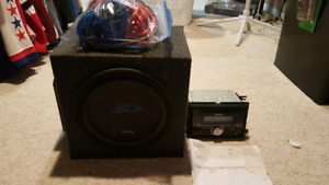 Trade for ps4 dexk sub amp and 400w wiring kit