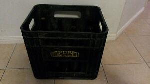 12 OLD Brown Beer Bottles and crate (EMPTY) Nerang Gold Coast West Preview