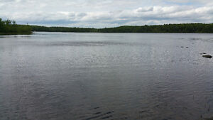 Beautiful waterfront lot on black rattle lake