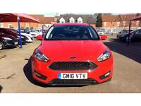 2016 Ford Focus 1.5 TDCi 120 Zetec 5dr Manual Diesel Hatchback