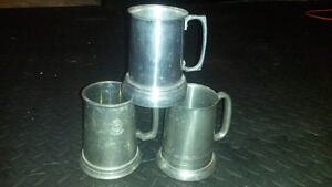 beer mugs and glassware