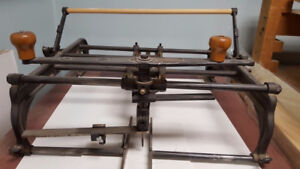 Oval Mat Cutter with Table