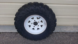 2 Utility Wheels And Tires
