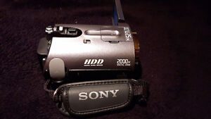 REDUCED!! SONY HDD CAMCORDER