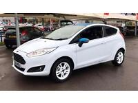 2016 Ford Fiesta Zetec White Edition 1.0 EcoBoo Manual Petrol Hatchback