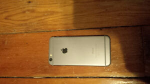 $300 water damaged iphone 6, 16gb space gray