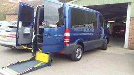 2012 Mercedes Sprinter Diesel AUTOMATIC Disabled Driver Transfer Wheelchair Acce