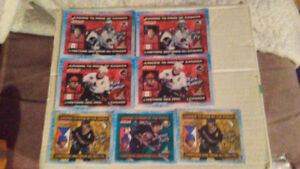 Juniors to pros jello hockey cards