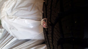 HANKOOK snow tires and rims for sale Cambridge Kitchener Area image 2