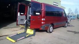 2011 Mercedes Sprinter 210 AUTOMATIC DRIVER TRANSFER MWB Wheelchair Disabled