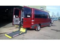 2011 Mercedes Sprinter 210 AUTOMATIC DRIVER TRANSFER MWB Wheelchair Disabled