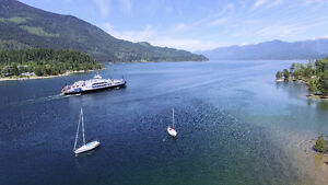 Gorgeous Custom Built Waterfront Home near Nelson