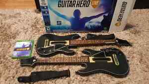 Guitar Hero Live for Xbox One. 2 Guitars