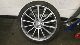 """Mercedes 19"""" Turbine Alloys Pirelli Tyres"""