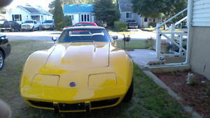 1976 Corvette 4 spd  car Certified reduced to $11,000,00 firm