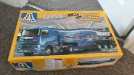 Italer model truck kits 1:24 scale for sale  Somercotes, Derbyshire