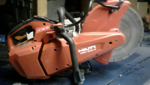 Hilti concrete saw , DSH 600X