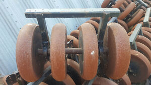 64FT Bourgault 4.5inch steel pakers