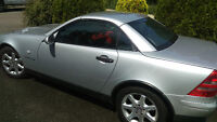 One owner mint conditon Mercedes 230 SLK convertible.  LOW kms