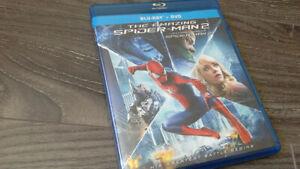 THE AMAZING SPIDERMAN 2 BLURAY/DVD COMBO