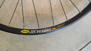 Mavic single speed rear disc rim