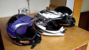 Helmets For Quad or Dirt Bike
