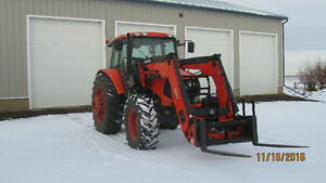 M135X Kubota for sale Strathcona County Edmonton Area image 2