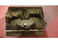 PS3 60GB + 3 CONTROLLERS + 10 GAMES & XBOX 360 60GB + 7 GAMES BARGAIN BUNDLE MUST SEE LOOK !!!!!!!