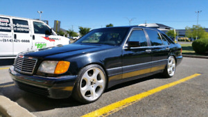 Mercedes Benz S500 W140 Brabus Package