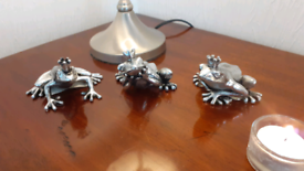 Silver Prince Frogs x3