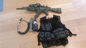Tippman X7 and gear