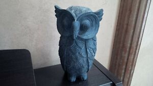 Solid stone owl