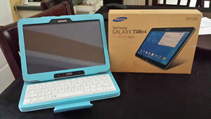 Samsung Tab 4 with Bluetooth keyboard
